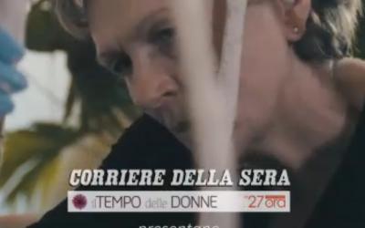 Corriere TV – «Ho lasciato il lavoro per fare la mamma. E sono diventata un'artista»