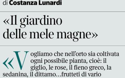 Corriere della Sera Brescia – Il Giardino delle Mele Magne
