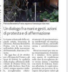 Woman Art Venice. Le opere di Fratus alla Domus Civica