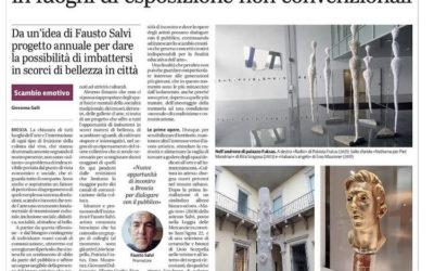 "Corriere di Brescia: ""Cultura in-attesa"""